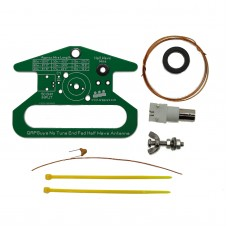 Portable No Tune End Fed Half Wave Antenna EFHW Antenna Kit Unassembled For Radio Communications