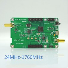 24-1700MHz SDR Receiver SDR Development Board 12Bit Perfect Replacement For RTL-SDR HackRF