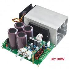 STK410-030 3x100W 2.1 Power Amplifier Board Power Amp Board Assembled High Low Voltage Power Supply