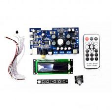 YXY-CY350 Digital Power Amplifier Board Coaxial Optic Fiber USB Input 50W+50W Or 50W+ 25W+25W w/ LCD