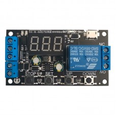 ZK-TD2 Time Delay Relay Module 5V12V24V Compatible Trigger Cycle Timing Industrial Against Overshoot