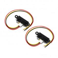 2pcs Imported Distance Senor GP2Y0A21YK0F For Sharp IR Distance Sensor Working Range 10-80cm