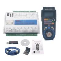 6-Axis Mach3 Motion Controller USB Port 2MHz CNC Breakout Board MK6-V + 6-Axis Wireless MPG Handwheel
