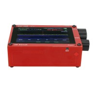 "Red Thicker 3.5"" 50KHz-200MHz Malachite DSP Software Defined Radio Malahit SDR Receiver Nice Sound"