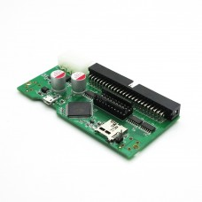 "For New 3.5"" SCSI2SD SCSI Adapter With 50-Pin SCSI to SD Card Adapter Slot (50-Pin SCSI Hard Disk)"