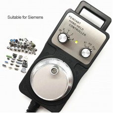 4 Axis MGP CNC Handwheel Manual Pulse Generator For Siemens CNC Machine Tool Engraving Machines