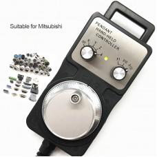4 Axis MGP CNC Handwheel Manual Pulse Generator For Mitsubishi CNC Machine Tool Engraving Machines