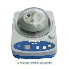 HL-4KS 4000RPM Mini Centrifuge Lab Microcentrifuge With Timing For 0.2ml/0.5ml/1.5ml/2.0ml Tubes