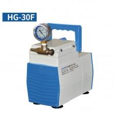 Oil-Free Lab Diaphragm Vacuum Pump HG-30F 30L/min 200mbar Anticorrosive One Gauge Negative Pressure