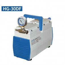 Oil-Free Lab Diaphragm Vacuum Pump HG-30DF 30L/min 50mbar Anticorrosive One Gauge Negative Pressure