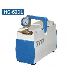Oil-Free Lab Diaphragm Vacuum Pump HG-60DL 60L/min 150mbar Normal Type Positive Negative Pressure
