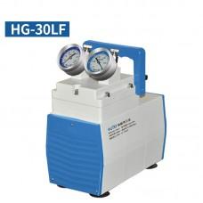Oil-Free Lab Diaphragm Vacuum Pump HG-30LF 30L/min 200mbar Anticorrosive Type Dual Pressure Gauges