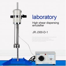High Shear Emulsifier Lab Dispersion Emulsifier Mixer Capacity 40L JRJ300-D-1 With Speed Regulator