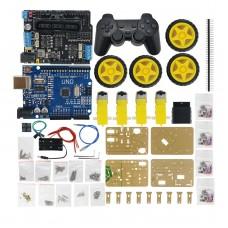 4 Axis MeArm DIY Arduinos Robot Arm Kit Car Wheel Design with PS2 Remote Control Joystick
