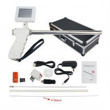 Insemination Kit for Cows Cattle Visual Insemination Gun w/ Adjustable Screen Upgraded Version
