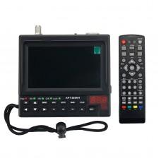 Portable DVB-S2 Digital Satellite Finder & Monitor Full HD DVB-S Sat Finder Meter KPT-268AH
