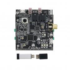 ADAU1452 DSP Board + AD1938 Audio CODEC Board 192KHz 24Bit + USBi Emulator Burner USB Programmer