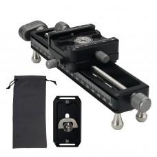 Nisi NM-180 Macro Focusing Rail Slider Portable Desktop Shooting Slide Photography Track for SLR Camera