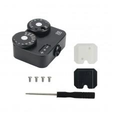 DOOMO Meter D Hot Shoe Light Meter For Dual Lens Reflex Camera 120/135 RangeFinder Leica (Black)