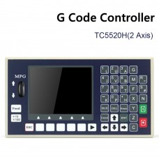 TC5520H 2 Axis CNC Controller System G Code Motion Controller w/ MPG For CNC Milling Machines