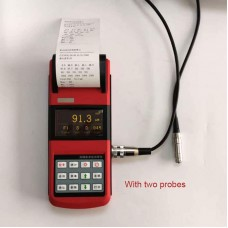 """WONTEST MT2600 Portable Paint Coating Thickness Gauge High-Precision 2.7"""" OLED Screen w/ Two Probes"""