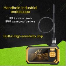 "Inskam113 Industrial Endoscope Camera 1080P Borescope Inspection Camera w/ 4.3"" LCD 3M Coiler"