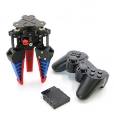 "Bionic Manipulator Mechanical Arm For 0.8-3.9"" Objects Finger Gripper Robot Claw Assembled + Controller Kit"