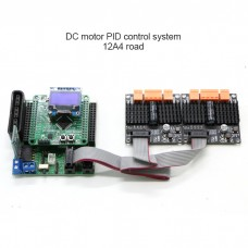 DC Motor Controller PID Controller System 12A 4-Way For Intelligent Cars Support CAN Serial Control