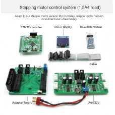 Stepper Motor Controller System 1.5A 4-Way For Intelligent Cars Support CAN Serial Control
