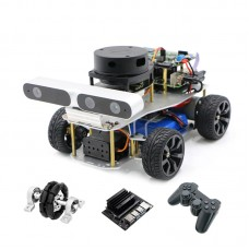 ROS Smart Car Robotic Car Ackerman/Differential + Control For Jetson Nano B01 + Controller For PS2