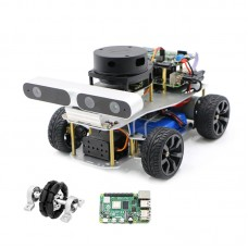ROS Smart Car Robotic Car Ackerman/Differential Version + Master Control For Raspberry Pi 4B