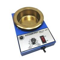 "SWDT-41C 300W Lead-Free Soldering Pot Solder Pot Temperature Adjustment 200-450℃ Diameter 100mm/3.9"""