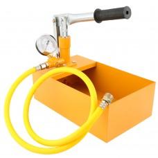 "2.5Mpa Metal Manual Pressure Test Pump 25KG PPR Water Pipe Thicker Hydraulic Test Pump w/ 1/2"" Hose"