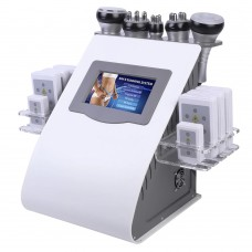 6-In-1 Cavitation Slimming Machine 40K RF Cavitation Body Sliming Machine For Spa Beauty Salon