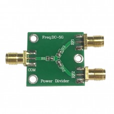 Resistive RF Power Divider Broadband DC-5GHz Radio Frequency Power Splitter One To Two Channels