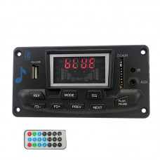 Lossless APE Bluetooth DAC Spectrum Display FM MP3 Decoder Board APP w/ Cable D-6 Remote Control