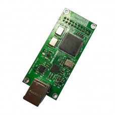 For XMOS-XU208 USB Digital Interface USB Asynchronous Daughter Card USB to I2S DSD256 + CPLD Green
