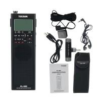 For Tecsun PL-365 Full Band Radio Digital Demodulation DSP Radio Receiver Single Sideband Black