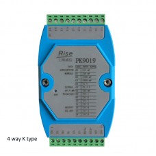 PK9019 4-Channel K Thermocouple Data Acquisition Module Data Acquisition System RS485 For Modbus-RTU