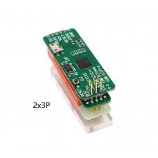 DSTIKE Bootloader Flash Tool (2x3P) For Arduino ISP Arduino Bootloader Development Programmer