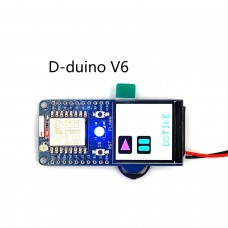 "DSTIKE D-duino V6 Display Duino ESP8266 Development Board 1.3"" Color TFT Screen 240*240 Resolution"