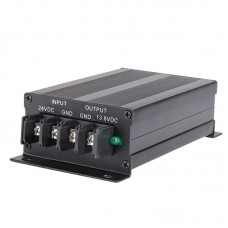 QJ1630SW DC Voltage Converter Step Down 24V To 13.8V For High Frequency Car Boat Truck Transceiver