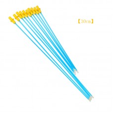 "50pcs Disposable Artificial Insemination Rods Tubes 30cm/11.8"" Perfect For Small Medium-Sized Dogs"