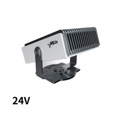 150W Car Heater Defroster Car Air Heater Fan 180° Rotation Portable Heating Cooling Fan (24V)