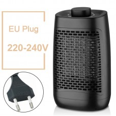 YND-1200 Electric Air Heater 1200W Household Bathroom Mini Space Heater Knob Control EU Plug