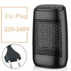 YND-1200S Electric Air Heater 1200W Household Bathroom Mini Space Heater Buttons Control EU Plug