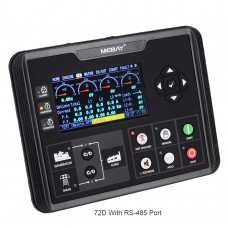 DC62DR Diesel Genset Controller Generator Controller w/ Electric Supply Monitor AMF Function RS485