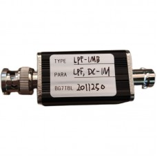 RF Low Pass Filter LPF Filter With BNC Connector 1M For RF Ham Radio Uses DIY Enthusiasts