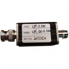 RF Low Pass Filter LPF Filter With BNC Connector 2.5M For RF Ham Radio Uses DIY Enthusiasts