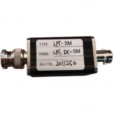 RF Low Pass Filter LPF Filter With BNC Connector 5M For RF Ham Radio Uses DIY Enthusiasts